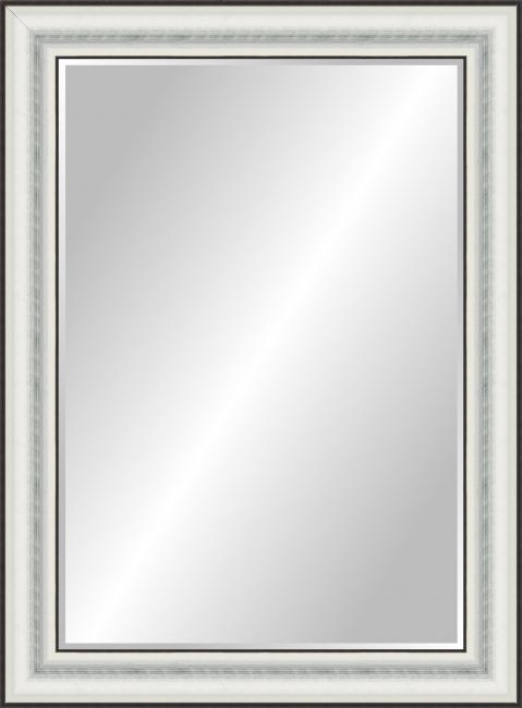 Настенное зеркало в деревянной раме Невис Сине-зеленое