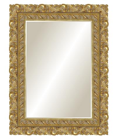 Настенные зеркала в деревянной раме