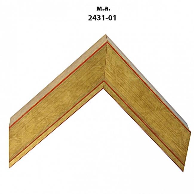 Багет золото/серебро арт. 2431-01