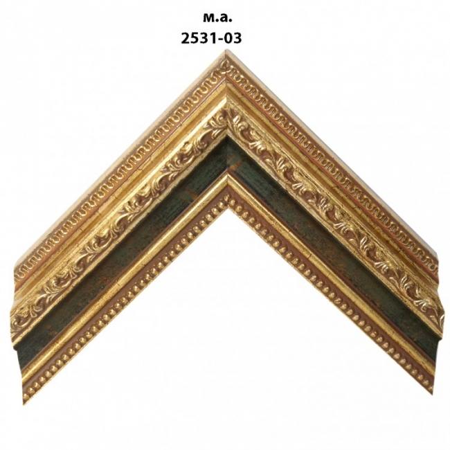 Багет золото/серебро арт. 2531-03