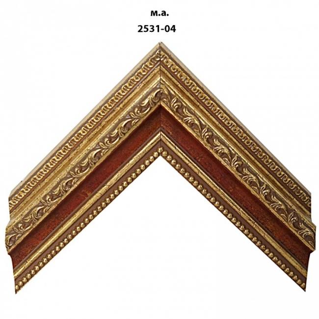 Багет золото/серебро арт. 2531-04