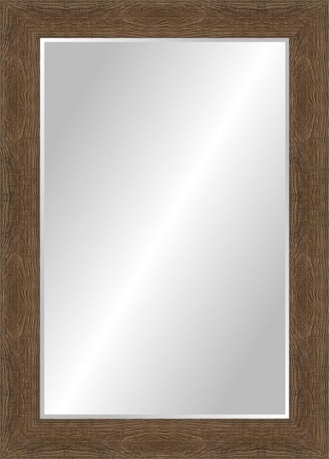 Настенное зеркало в деревянной раме Дерево стандартное