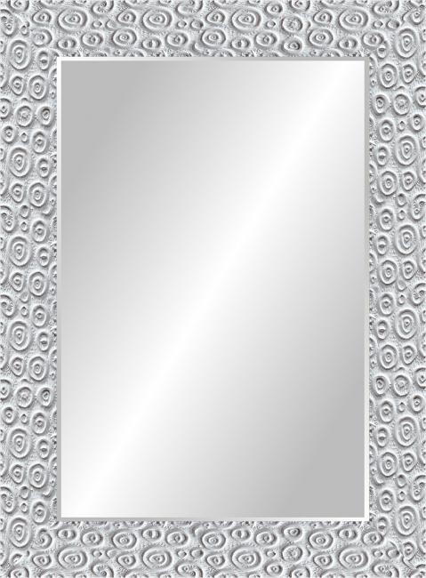 Настенное зеркало в деревянной раме Дизайнерское