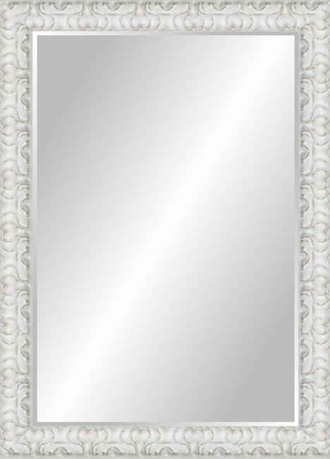 Настенное зеркало в деревянной раме Лилия