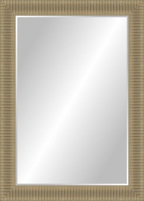 Настенное зеркало в деревянной раме Виталий