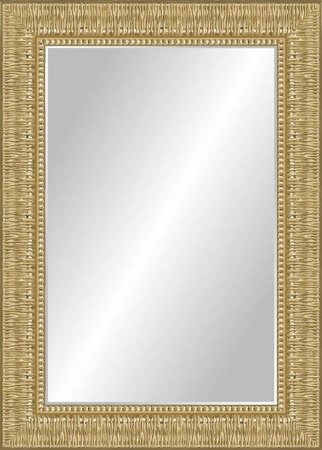 Зеркало в ванную комнату в пластиковой раме Мария