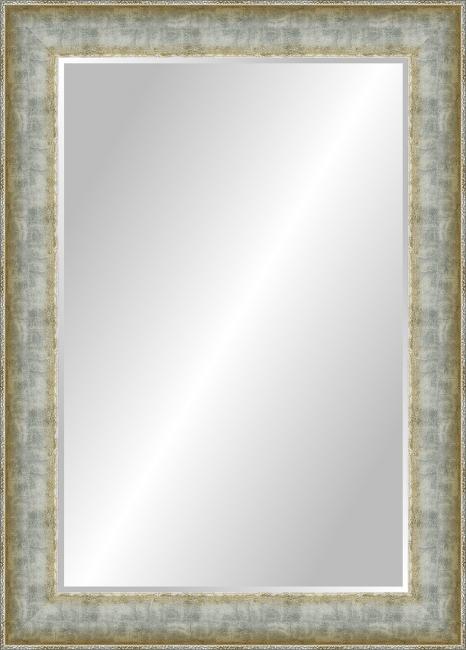 Зеркало в ванную комнату в пластиковой раме Констанция