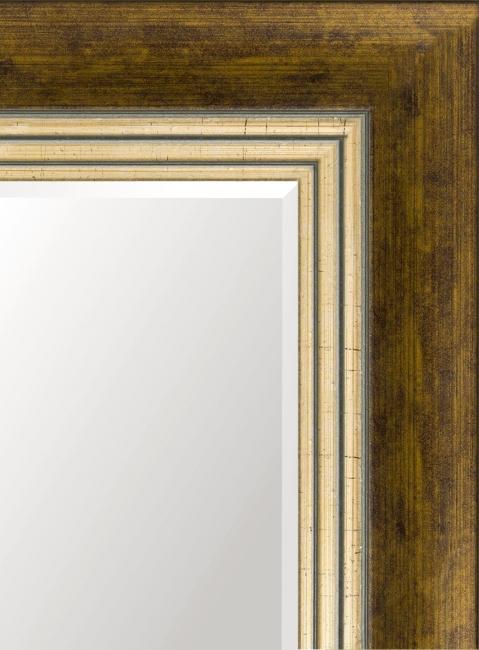 Зеркало в ванную комнату в пластиковой раме Морель