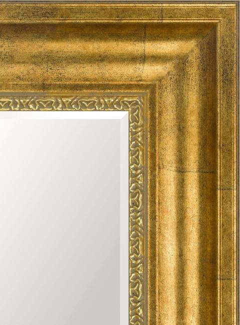 Зеркало в ванную комнату в пластиковой раме Рика
