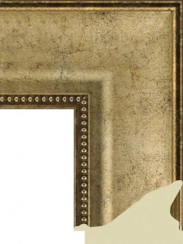 Багет пластиковый золото и серебро шириной 8.3 см арт. ПЛЗС023