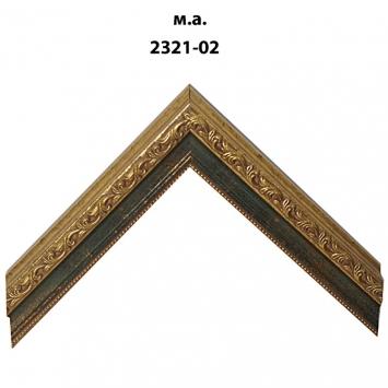 Багет золото/серебро арт. 2321-02