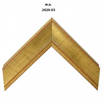 Багет золото/серебро арт. 2420-03