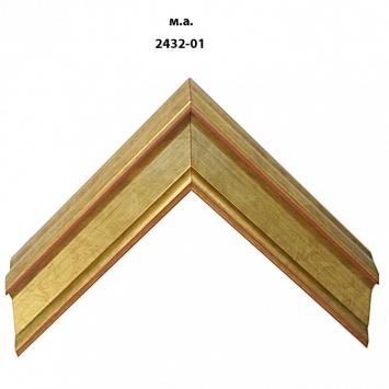 Багет золото/серебро арт. 2432-01