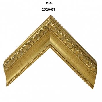 Багет золото/серебро арт. 2520-01