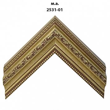 Багет золото/серебро арт. 2531-01