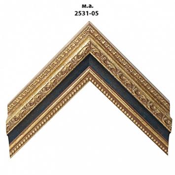 Багет золото/серебро арт. 2531-05