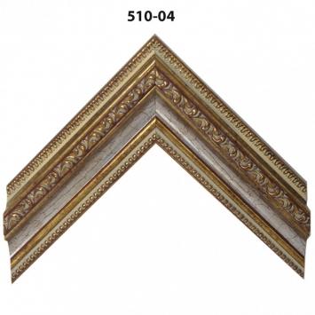 Багет золото/серебро арт. 510-04
