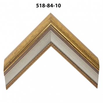 Багет золото/серебро арт. 518-84-10