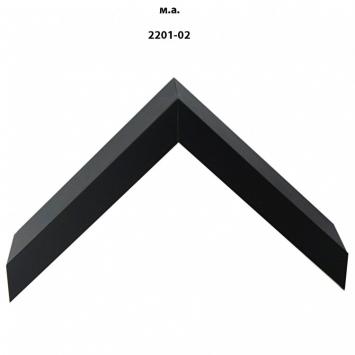 Деревянный багет черных тонов шириной 2201-02