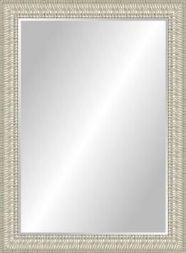 Настенное зеркало в деревянной раме Арктика