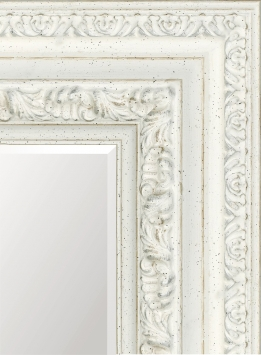 Настенное зеркало в деревянной раме Берта