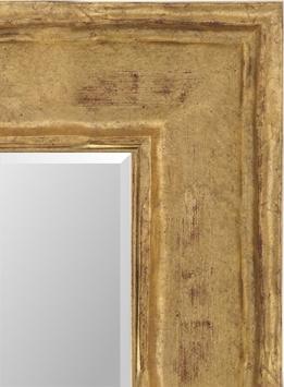 Настенное зеркало в деревянной раме Элеонора