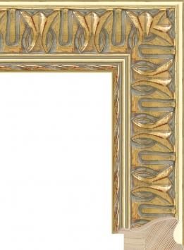 Настенное зеркало в деревянной раме Греция