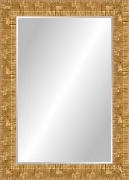 Настенное зеркало в деревянной раме Космические путешествия
