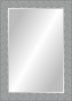 Настенное зеркало в деревянной раме Вечерний снег