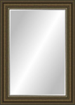 Зеркало в ванную комнату Кирилл в пластиковой раме
