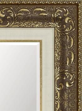 Зеркало в ванную комнату в пластиковой раме Амалия