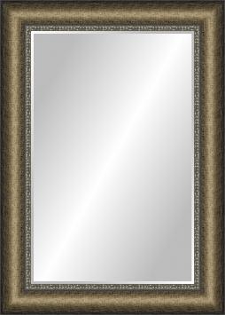 Зеркало в ванную комнату в пластиковой раме Лима