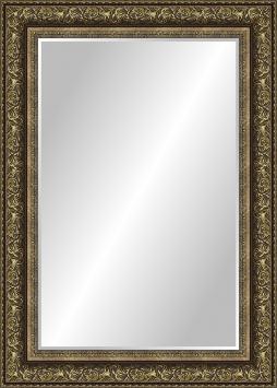 Зеркало в ванную комнату в пластиковой раме Мартиника